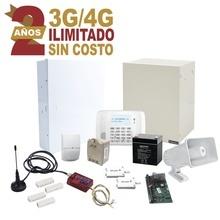 Kit2mini Syscom KIT De Alarma Con 2 ANOS De Comunicacion Il