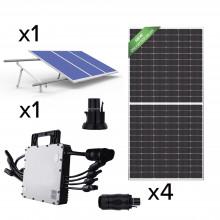 Kit4hm1500 Hoymiles Kit Solar Para Interconexion De 1.5 Kw D