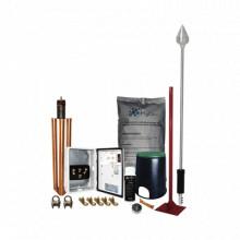 KITMASTER01 Total Ground Kit Pararrayo con Punta en Aluminio