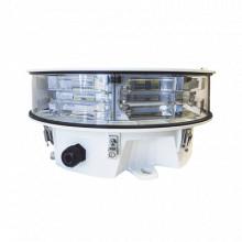 LONESTAR Twr Lampara de Obstruccion LED Dual Rojo/Blanca de