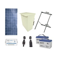 Plradfv Epcom Powerline Kit De Energia Solar De 12 Vcd Para