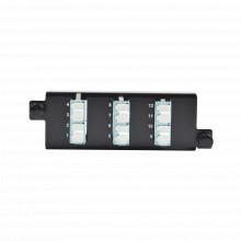Ppmflcq1201 Siemon Placa Acopladora De Fibra Optica Plug And