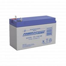 Ps1290nb Power Sonic Bateria De Respaldo UL De 12V 9AH / Ide