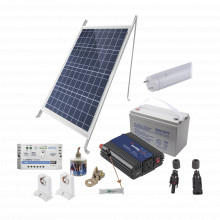 Pvt8light1 Epcom Powerline Kit Solar Para Iluminacion Basica