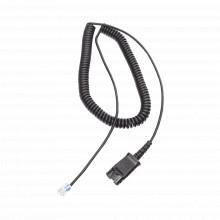 Qd03 Fanvil Cable Adaptador Para Diademas Modelo HT101 HT20