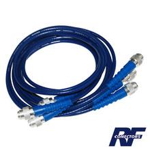 Rfa4041 Rf Industriesltd Juego De 3 Cables Doble Malla De 4