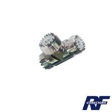 Rfu534 Rf Industriesltd Adaptador De Conector UHF Hembra S