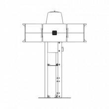 RME Federal Signal Industrial Placa de montaje para techo en