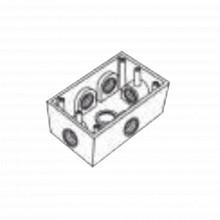 Rr0289 Rawelt Caja Condulet FS De 1/2 12.7 Mm Con Seis Bo