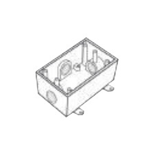 Rr2743 Rawelt Caja Condulet FS De 1 25.4 Mm Con Tres Boca