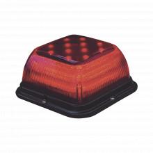 Sb48rr Code 3 Baliza SB 48 LED Lente Rojo LED Rojo 12-24V