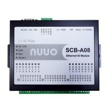 Scba08 Nuuo Modulo De Entrada Y Salida De Alarma IP 8 Entra