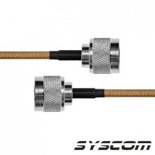 Sn142n60 Epcom Industrial Cable Coaxial RG-142/U De 60 Cm. P