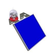 Solfbib Delta Box Lampara De Obstruccion Autonoma Luz Fija L