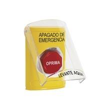 Ss2222poes Sti Boton De Apagado De Emergencia Con Tapa Prote