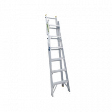SYSEC13 Surtek Escalera de Aluminio 2 Modos Tijera 1.99m
