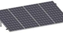TES557111 PV ACCESORIOS PV SRI430 - Kit para sistema solar c