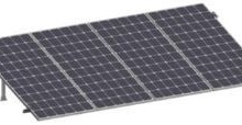 TES557111 PV ACCESSORIES PV SRI430 - Kit para sistema solar