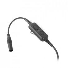 Vs4la Icom Cable De Ptt Para Uso Con HS-94 HS-95 HS-97 mic