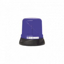X7660B Ecco Burbuja rotoled color azul con montaje permanen