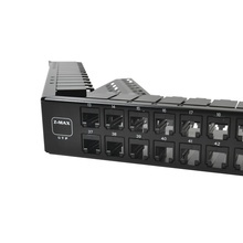 Z6apnlau48k Siemon Patch Panel UTP Z-MAX Categoria 6A De 48