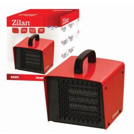 Aeroterma ceramica ZILAN ZLN-3017, 2 trepte de putere, 2000 W, Termostat regabil, Protectie supraincalzire