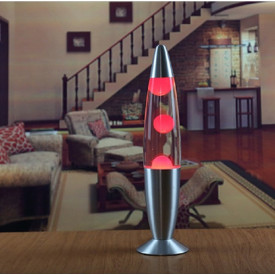 Lampa decorativa mica Lava Lamp