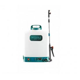 Pompa de stropit cu acumulator 16L furtun presiune DETOOLZ DZ-P110