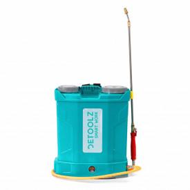 Pompa de stropit electrica cu suport lombar, 16L, 5,5 bari DETOOLZ DZ-P109