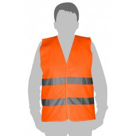 Vesta reflectorizanta portocalie XXL 45112