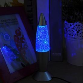 Lampa decorativa cu sclipici mica