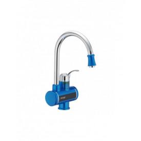 Robinet electric, instant pentru apa calda, cu display digital, 3 Kw, MIXXUS Electra 240-E Blue