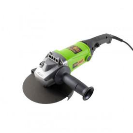 Polizor unghiular (flex) ProCraft PW2150 Germania, 2150 W, 7500 RPM, 180 MM, verde-negru