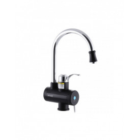 Robinet electric, instant pentru apa calda, cu display digital, 3 Kw, MIXXUS Electra 240-E, Black