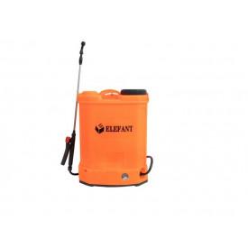Pompa de stropit electrica Elefant, 12 L , 6 bar, regulator presiune lance 85cm, 3 duze
