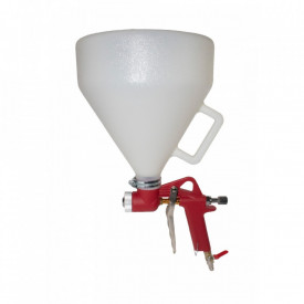 PISTOL AER COMPRIMAT PENTRU VOPSIT, CUVA PLASTIC GUARDIAN B002