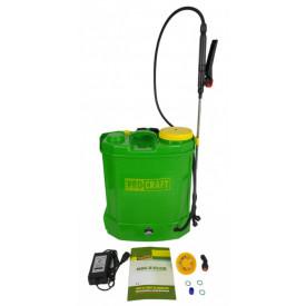 Pompa de stropit electrica, 12L, cu regulator presiune 12V, 8aH, ProCraft AS12L