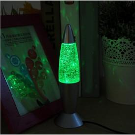 Lampa decorativa cu sclipici mare