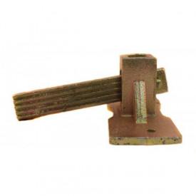 GF-0448 Cleme cu pana pentru otel beton 8mm-10mm GALBENA