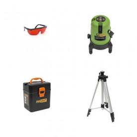 Nivela laser Procraft cu trepied, 3D, interval 15m, precizie +/- 5mm LE-3D