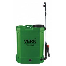 Pompa de stropit electrica, 12L, cu regulator presiune 12V, 8aH, VERK VLS-12AB