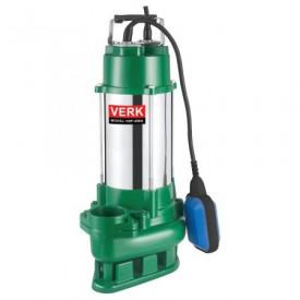 Pompa submersibila apa murdara cu plutitor Verk VDF-450A, 450 W, 6.960 l / h, 10m cablu