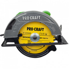 CIRCULAR ELECTRIC DE MANA PROCRAFT KR2830, 2.8 KW, 235 MM, 4500 RPM