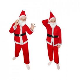 Costum de Mos Craciun pentru copii