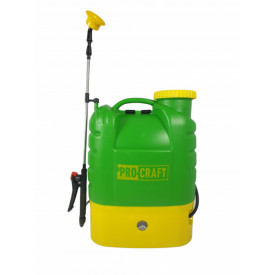 Pompa de stropit electrica, 16L, cu regulator presiune 12V, 8aH, ProCraft AS16L