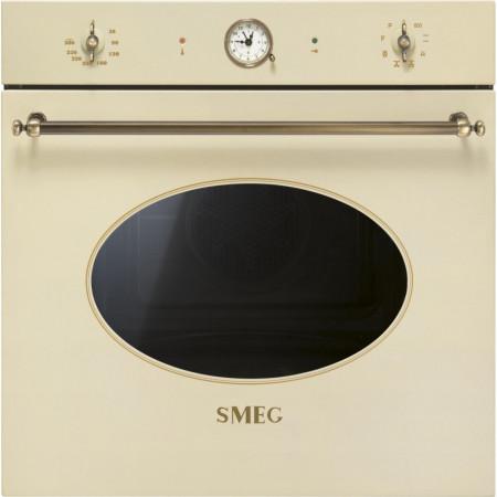 Cuptor încorporabil electric, Colonial, crem, retro, curățare pirolitică, Smeg SFP805PO