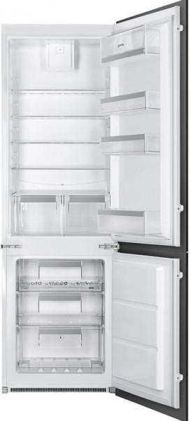 Frigider încorporabil cu congelator, 178 cm, 254 l, SmegC8173N1
