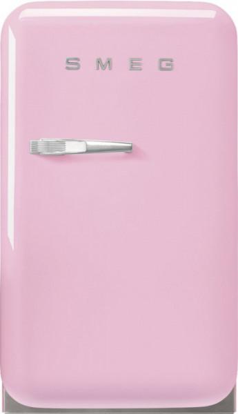 Frigider cu 1 ușă, retro, 50's Style, 73 cm, 34 l, roz, balamale în dreapta, Smeg FAB5RPK5