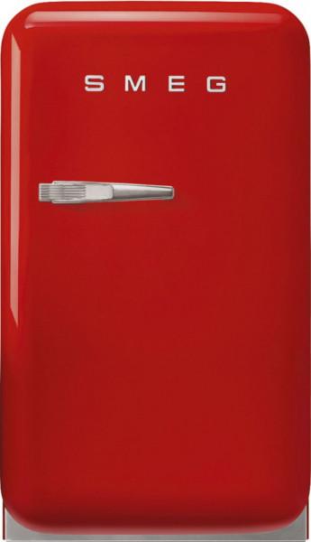 Frigider cu 1 ușă, retro, 50's Style, 73 cm, 34 l, roșu, balamale în dreapta, Smeg FAB5RRD5