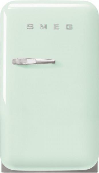 Frigider cu 1 ușă, retro, 50's Style, 73 cm, 34 l, verde pastel, balamale în dreapta, Smeg FAB5RPG5